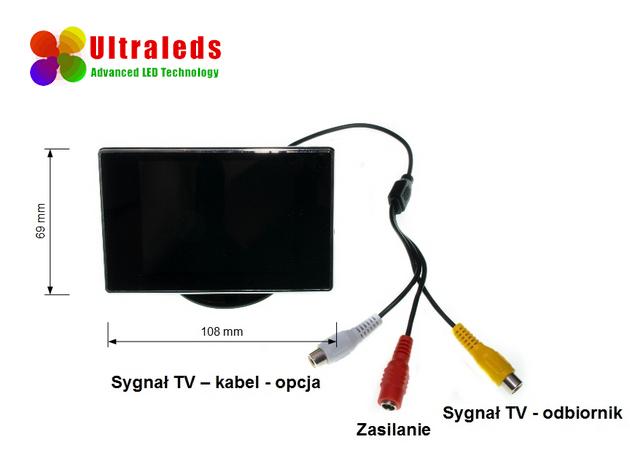 monitor - kamera cofania